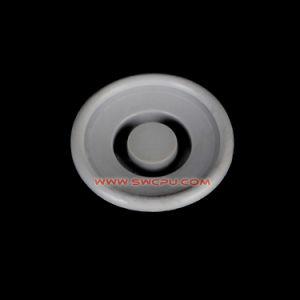 Kundenspezifische runde quadratische Silikon-Gummi-blinde löschentülle für Loch-Dichtung