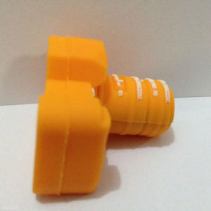 Aandrijving van de Pen van de Douane USB van de Camera van pvc de Rubber voor Bevordering