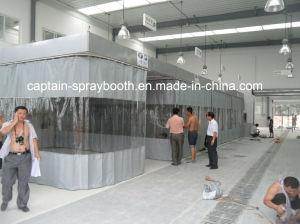 Baía de preparação do carro / sala de lixa / Cabine de lixagem com cabina de pintura