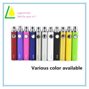 Bateria Vape cigarros eletrônicos coloridos para sumo ou óleo da CDB