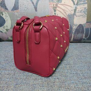 Les petits sacs à main à la mode rouge unique hobo avec double sangles (027-1)