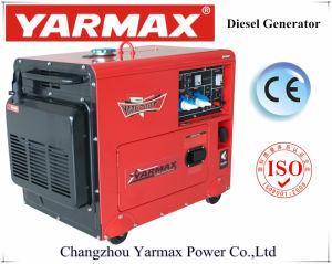 Tipo silenzioso economico generatore diesel 3kw 5kw 6kw del singolo cilindro di Yarmax