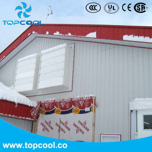 Установите флажок из стекловолокна электровентилятора системы охлаждения двигателя 50 положительное давление для машинного доения дневника вентиляции