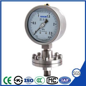 Calibro del manometro del manometro della guarnizione del diaframma dell'acciaio inossidabile per la prova di Crrosion