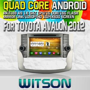 Witson per il giocatore dell'automobile S160 DVD GPS di Toyota Avalon 2012