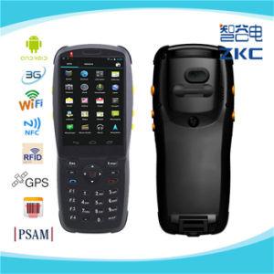 PDA Zkc3501 3G, Android WiFi sem fio portátil Scanner de código de barras 2D