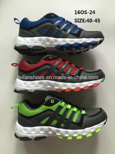 Última moda zapatos ejecutando deporte zapatos atléticos (16OS-24)