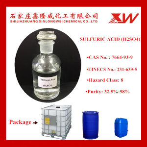 Het Zwavelzuur van 98%/Zwavelachtig Zuur/H2so4
