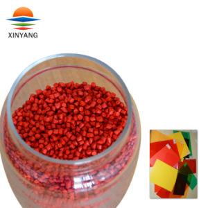 高い分散によってCompundの着色されるゴム製赤いHDPE Masterbatch