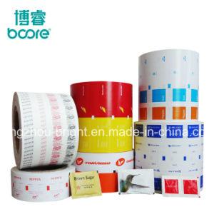 Uso de la máquina de sellado al calor PE Papel recubierto con película PE para el Envasado de Alimentos, bolsa de polvo de material de embalaje.