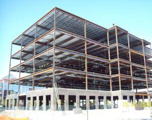 Rascacielos de estructura de acero galpón metálico prefabricados