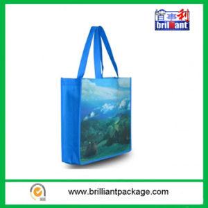 再生利用できる薄板にされたPPによって編まれる買物をするトロリー袋