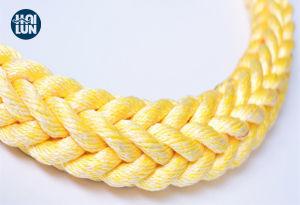 L'impa 8/12 brins en nylon polyamide polyester mélangé en polypropylène de la corde de remorquage maritime pour l'amarrage