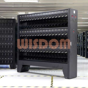 知恵の安全灯の情報処理機能をもった充満ラック