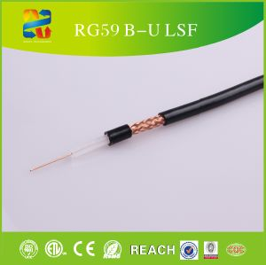 Rg59 CCTV siamese Combo Coaxial Cable B 20AWG Rg59 + 2X18AWG Power Cable