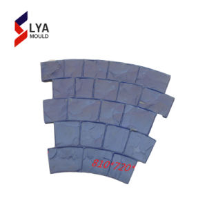 Silicone poliuretano Pavimentadora de moldes em borracha de concreto telha de cimento