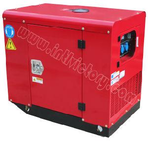 11kVA type silencieux générateur portatif d'essence avec CE/CIQ/ISO/Soncap