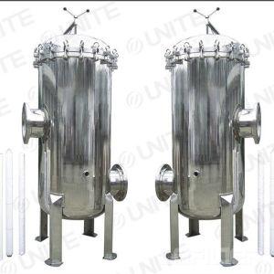 Industrielles Kassetten-Filtergehäuse des Edelstahl-SS316 multi