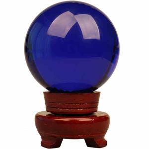 La magia de la curación de la bola de cristal Cristal esfera
