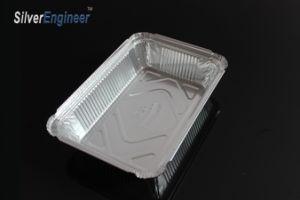 Déjeuner de l'étain boîte en aluminium avec de classe alimentaire