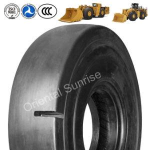 Chinesischer Gummireifen-Hersteller, der gute Preis-Qualitätsvorspannung/Radial-OTR Gummireifen angibt