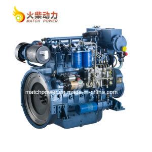 Motor van de Boot van de Dieselmotor van Deutz van Weichai 96HP 70kw de Mariene Wp4 met Uitstekende kwaliteit
