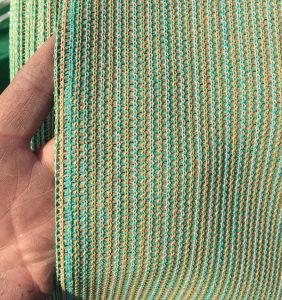 Gebreid Plastic die Netwerk als het Opleveren van de Schaduw van de Zon wordt gebruikt