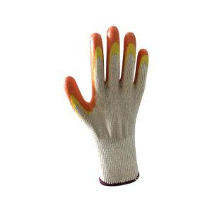 De langdurige Katoenen Handschoenen van het Werk met de Dubbele Laag van het Latex 80g per Paar