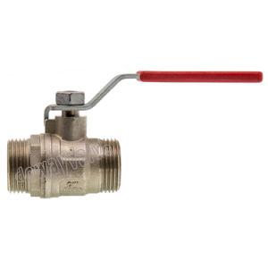 La palanca de acero chapado en níquel Válvula de bola