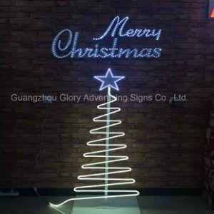 Neon LED luces de la decoración de Navidad