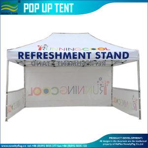 Partie extérieure de l'événement Gazebo Pop up tente chapiteau d'auvent
