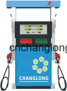Dispensador de combustível dos bicos injetores duplos para a estação de enchimento