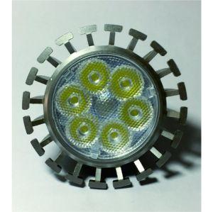 Heiße verkaufenGU10 LED vertiefte LED Glühlampe des Europa-Markt-des Scheinwerfer-6W GU10
