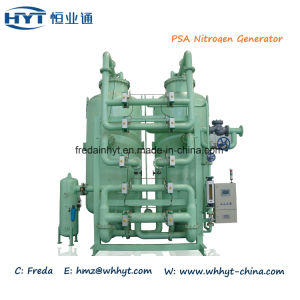 Große Schuppen-Industriegebrauch Schiene-Eingehangene Psa-Stickstoff-N2-Gas-Erzeugungs-Maschine