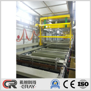 Automatischer Bock-Typ Aluminiumanodisierenoxidations-Maschinen-galvanisierenpflanze