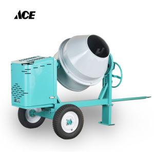 Twee-wielen 260L/350L de Fabriek van de Concrete Mixer van de Dieselmotor
