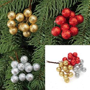 Ornamento d'attaccatura della frutta della sfera della decorazione dell'albero di Natale del partito di natale