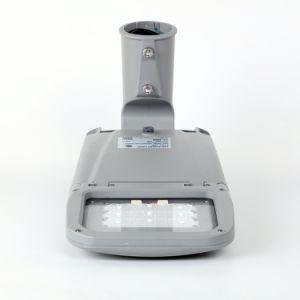 55W Full Die-Cast las luces de calle de la carcasa de aluminio con cubierta de vidrio