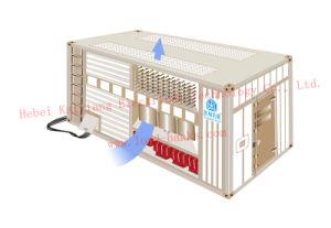 la Banca di caricamento 2500kVA per collaudare generatore