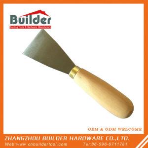 Горячий деревянной ручкой гипсокартон скребок