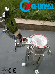 産業フィルター水フィルター上エントリバッグフィルタハウジング
