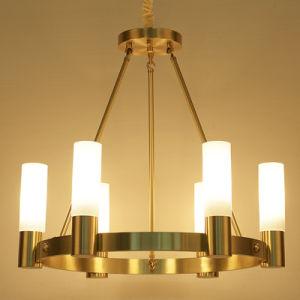 Modernes einfaches Dekoration-Hotel-grosses Hängen ringsum LED-Leuchter-Beleuchtung