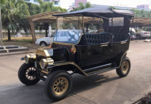 Estrutura de aço Vintage eléctrico 5 Lugares carrinhos de golfe para venda