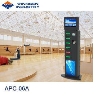 スマートなモデルコンピュータは支払を自己支払う自由で永続的な携帯電話充満端末APC-06Aを作動させた