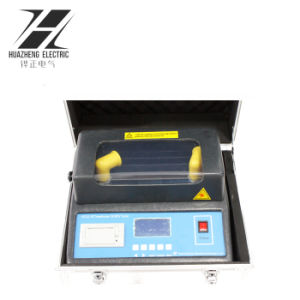 Strumentazione di prova elettrica di modello dell'olio del trasformatore 100kv di Huazheng di marca