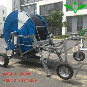 Het Systeem van de Irrigatie van de Sproeier van de Spoel van de slang met Turbine en Kanon 300m*60m van het Water