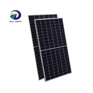 Câmara Superior do Suprimento de fábrica 144 Células 430W 440W 450W metade pedaço constituídos Painel Solar