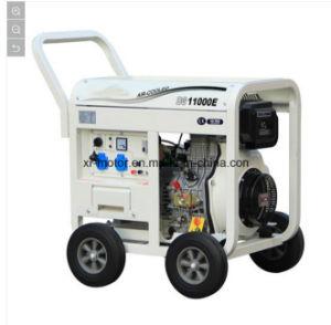 Dieselgenerator 7.5kw mit u-Typen europäischer Stecker-geöffneter Generator