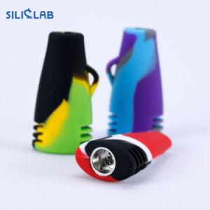 Superminipaprika-Form-Taschen-Löffel-Silikon-Tabak-Handrohre
