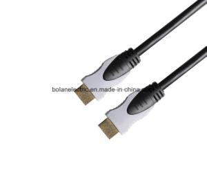 Cavo di HDMI con il supporto 4k 3D del connettore 1080P del metallo